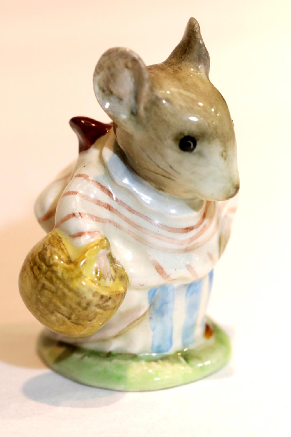 Beswick Beatrix Potter Mrs. Tittlemouse BP2b. P&P Group 1 (£14+VAT for the first lot and £1+VAT
