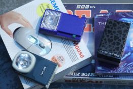 Mixed items including unopened Blue Planet special edition four disc DVD. Not available for in-house