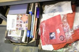 Box of mixed books including travel and cookery. Not available for in-house P&P