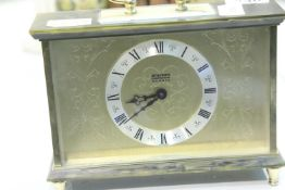 Staiger quartz clock. Not available for in-house P&P
