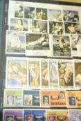 Album of Near East mainly 1960s stamps. Not available for in-house P&P