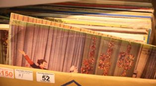 Box of mixed vinyl albums, mainly Classical. Not available for in-house P&P