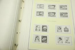 Pre printed blank album of Polish stamps, 1944 - 1969. Not available for in-house P&P