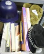 Box of children's games, dolls etc including Junior Scrabble, Ludo etc. Not available for in-house