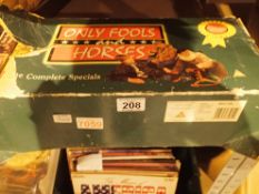 Only Fools and Horses the Complete Special Collection on 14 video cassettes. Not available for in-