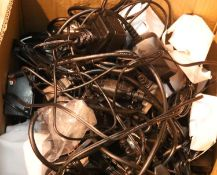 Large quantity of UK power leads, cables, remotes etc. Not available for in-house P&P