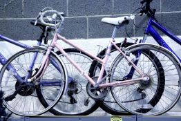 """Ladies vintage Raleigh Prima 5 speed racing bike with 17"""" frame. Not available for in-house P&P"""