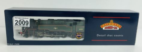 Bachmann 32-353 Standard Class 4MT BT Green (PRESERVED) - Boxed. P&P Group 1 (£14+VAT for the