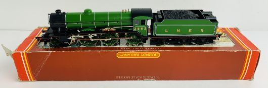 Hornby Man Utd OO B17 LNER Loco DCC FITTED - Boxed. P&P Group 1 (£14+VAT for the first lot and £1+