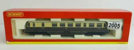 Hornby OO R2524A GWr Railcar - Boxed. P&P Group 1 (£14+VAT for the first lot and £1+VAT for