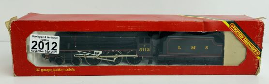 Hornby Black 5 LMS Lined - Boxed. P&P Group 1 (£14+VAT for the first lot and £1+VAT for subsequent