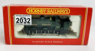 Hornby OO GWR Pannier - Boxed. P&P Group 1 (£14+VAT for the first lot and £1+VAT for subsequent