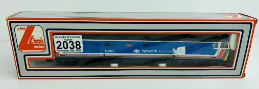 Lima OO NSE 50023 Howe Loco - Boxed. P&P Group 1 (£14+VAT for the first lot and £1+VAT for