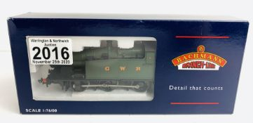 Bachmann 32-075 Class 56XX Tank GWR Green - Boxed. P&P Group 1 (£14+VAT for the first lot and £1+VAT