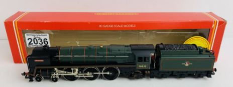 Hornby OO BR Green Tennyson 70032 Loco - Boxed. P&P Group 1 (£14+VAT for the first lot and £1+VAT