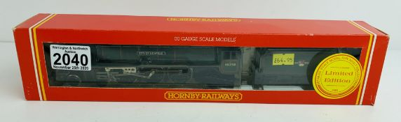 Hornby OO City of Lichfield 46250 - Loco - Boxed. P&P Group 1 (£14+VAT for the first lot and £1+