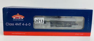 Bachmann 31-118 4MT BR Late Crest - Boxed. P&P Group 1 (£14+VAT for the first lot and £1+VAT for