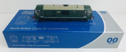 Dapol 4D-012-004 Class 22 BR Green D6325 Loco - Boxed. P&P Group 1 (£14+VAT for the first lot and £