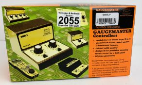 Gaugemaster Model P - Single Track with Simulater - Boxed. P&P Group 2 (£18+VAT for the first lot
