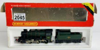 Hornby OO 46521 BR Green Loco - Boxed. P&P Group 1 (£14+VAT for the first lot and £1+VAT for