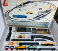 Lima OO Rail & Road Train Set - Loco Missing - CONTENTS UNCHECKED. P&P Group 3 (£25+VAT for the