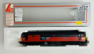 Lima OO RES 47 BR Red Loco DCC - Boxed. P&P Group 1 (£14+VAT for the first lot and £1+VAT for