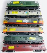 6x OO Gauge Hornby / Mainline / Lima Diesel Locos - ALL DCC DIGITAL FITTED - Unboxed. P&P Group