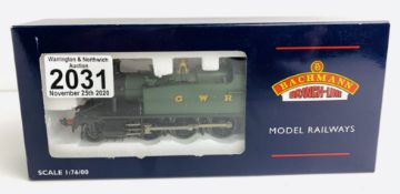Bachmann 32-135 Prairie 5531 GWR Green - Boxed. P&P Group 1 (£14+VAT for the first lot and £1+VAT