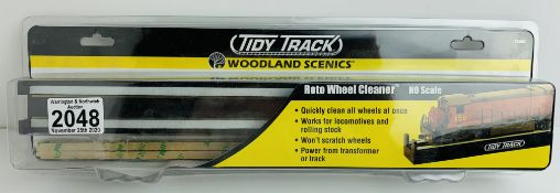 Woodland Scenics Tidy Track Roto Loco Wheel Cleaner - New in Packet. P&P Group 1 (£14+VAT for the