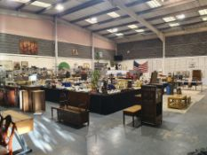 This auction is online only, through our two online bidding platforms. The auction house will be
