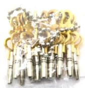 Set of fourteen different sized pocket watch keys. P&P Group 1 (£14+VAT for the first lot and £1+VAT
