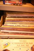 Large quantity of mixed vinyl albums including Billy Joel, Billy Jo Spears etc. Not available for