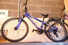 "Boys Trek MT 220 21 speed trail bike with 12"" frame. Not available for in-house P&P"