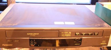 Panasonic NV-HD90 HiFi VHS recorder/player. Not available for in-house P&P