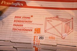 Two Pendaflex 94710 desk stands. Not available for in-house P&P