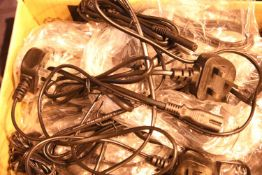 Quantity of UK power leads, UK plug to an IEC C7 (figure 8) power leads. Not available for in-