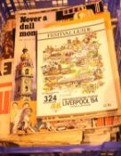 Quantity of Royal and other ephemera in booklet and newspaper issues. Not available for in-house P&P