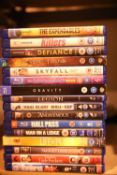 Sixteen BluRay disc films. P&P Group 2 (£18+VAT for the first lot and £3+VAT for subsequent lots)