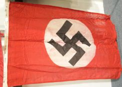 German Third Reich type NSDAP Party flag, stamped and dated 1934, 100 x 55 cm. P&P Group 1 (£14+