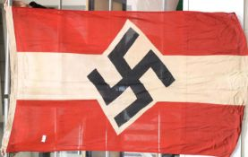 German Third Reich type Hitler Youth flag, 130 x 85 cm. P&P Group 1 (£14+VAT for the first lot