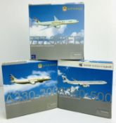 3x Dragon Wings 1:400 Airliners - To Include: Etihad A330-200, Qatar A340-500, Etihad 777-300ER -