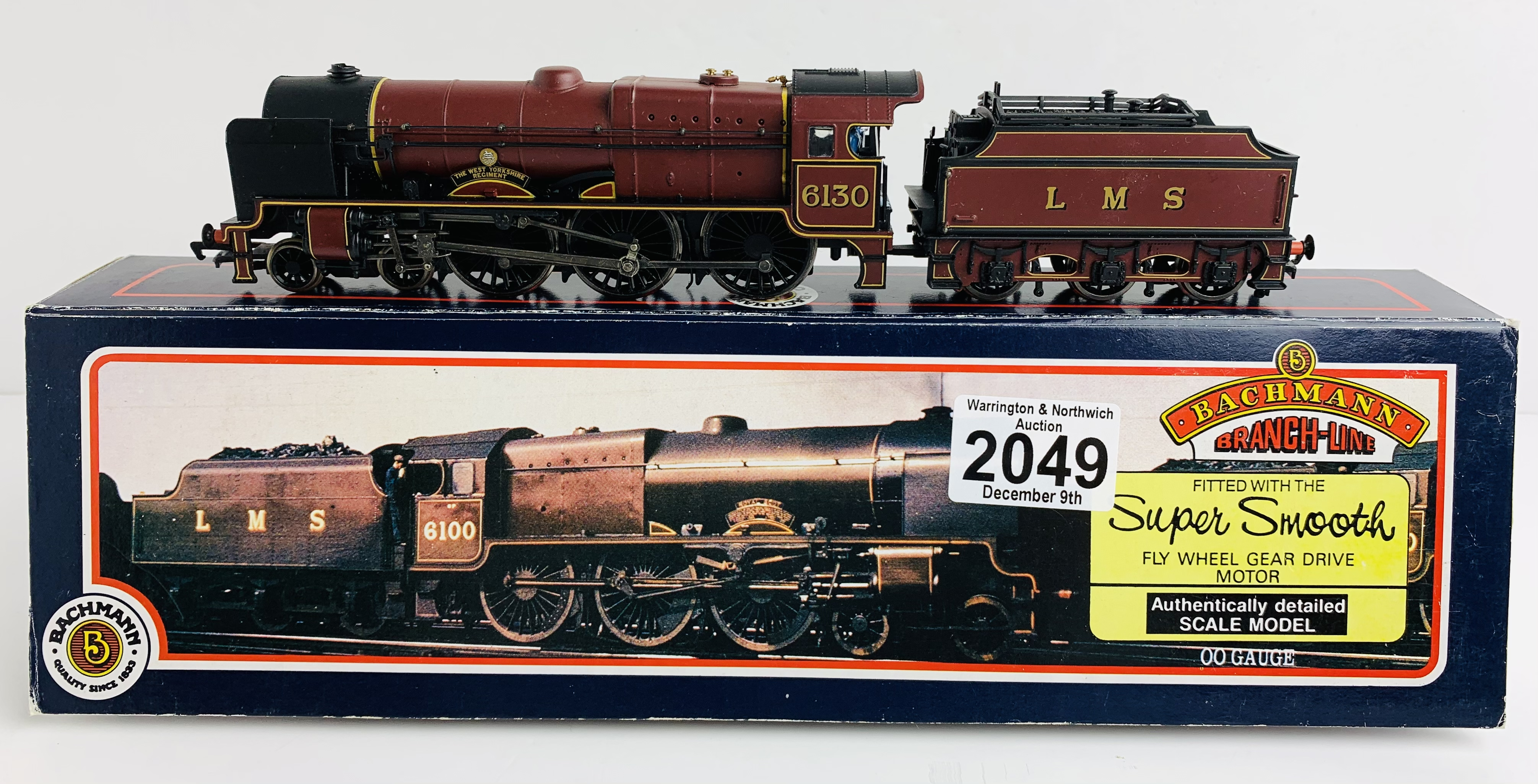 Bachmann 31-279 Parallel Boiler Scot 6130 'The West Yorkshire Regiment' LMS Maroon - Boxed P&P Group