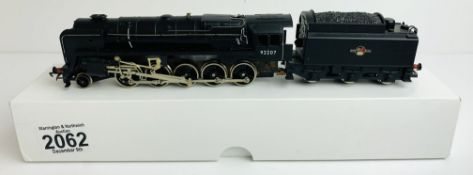 Hornby OO BR Black 92207 9F Loco - Supplied in Plain White BoxP&P Group 1 (£14+VAT for the first lot