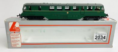 Lima 205150A6 BR Green Railcar W30W - Boxed P&P Group 1 (£14+VAT for the first lot and £1+VAT for