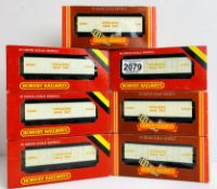7x Hornby LMS Insulated Milk Vans - All Boxed. P&P Group 2 (£18+VAT for the first lot and £3+VAT for