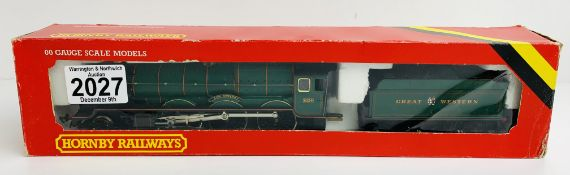 Hornby R078 GWR 4-6-0 'King Edward I' GWR Green Livery Loco - Boxed P&P Group 1 (£14+VAT for the