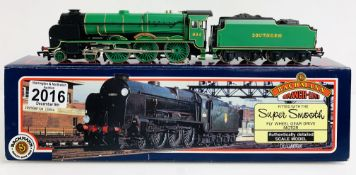 Bachmann 31-401 'Lord Nelson' 864 Sir Martin Frobisher Malachite Green - Boxed P&P Group 1 (£14+