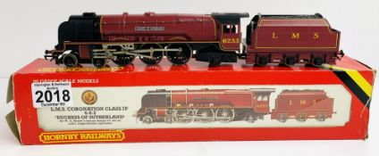Hornby R066 LMS 'Duchess of Sutherland' 6233 Loco - Boxed P&P Group 1 (£14+VAT for the first lot and