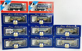 10x Lima 'Yeoman' Hopper Wagons - All Boxed P&P Group 2 (£18+VAT for the first lot and £3+VAT for