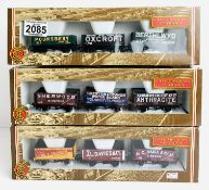 3x Bachmann 'Coal Trader Classics' - Including: 33-025, 33-026, 33-027 - London, Derbs/Notts, Wales.